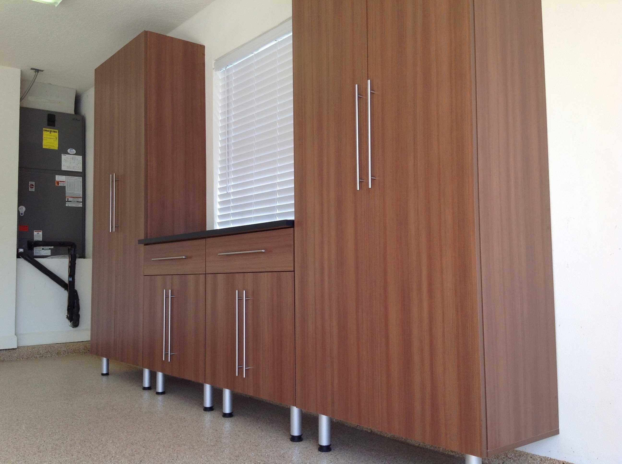 Garage Cabinets Brown