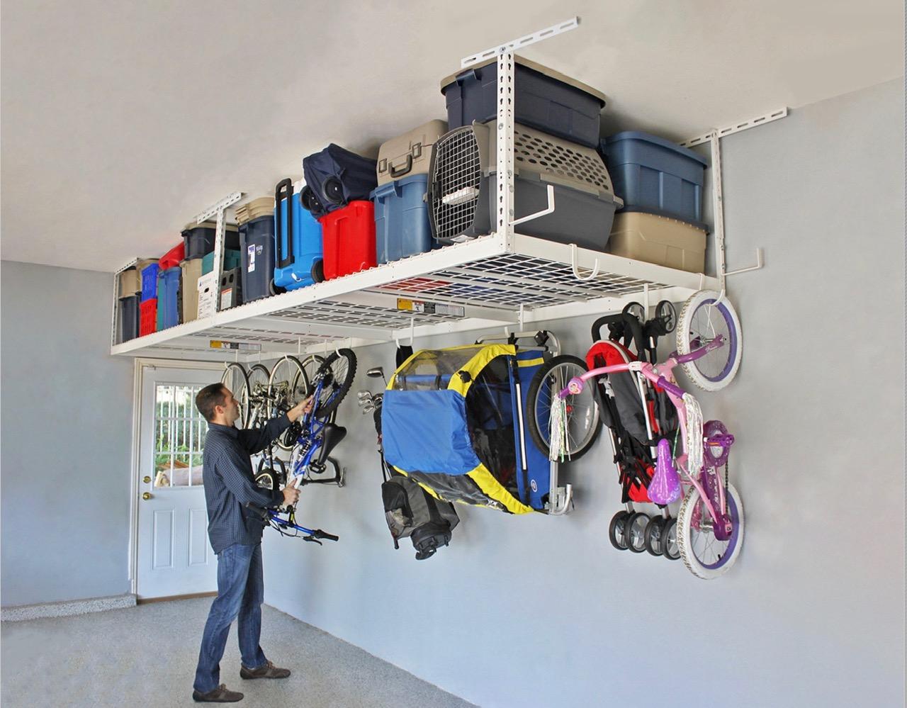 Ceiling Mounted Storage Racks
